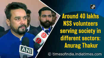 Around 40 lakhs NSS volunteers serving society in different sectors: Anurag Thakur