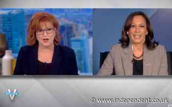 The View - latest: Kamala uses covid scare to appeal for vaccines after two hosts test positive