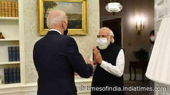 PM Modi, President Biden hold first in-person bilateral talks