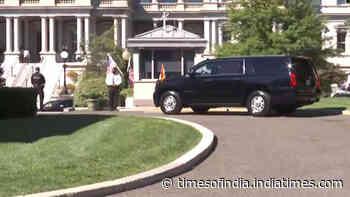 PM Modi arrives at White House to meet President Joe Biden
