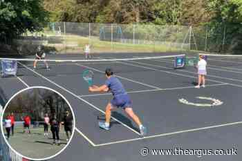Hollingbury Park Tennis Courts reopening event tomorrow