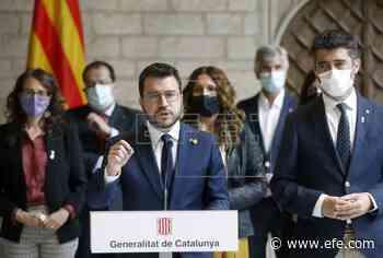 """Aragonès exige la """"libertad inmediata"""" de Puigdemont y viajará hoy a Cerdeña - EFE - Noticias"""
