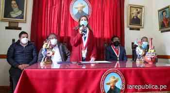 La Libertad: presidenta del Congreso atiende falta de presupuesto de hospital de Huamachuco - La República Perú