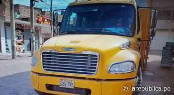 La Libertad: asaltan camión de cervecería Backus y dejan herido a trabajador - La República Perú
