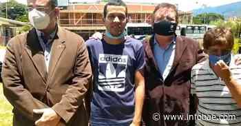 El preso político venezolano Daniel Parra recuperó la libertad - infobae