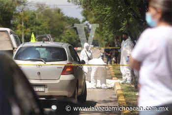"""Muere motociclista en la avenida Juárez, en Morelia, cuando chocó con un auto que dio vuelta en """"u"""" - La Voz de Michoacán"""