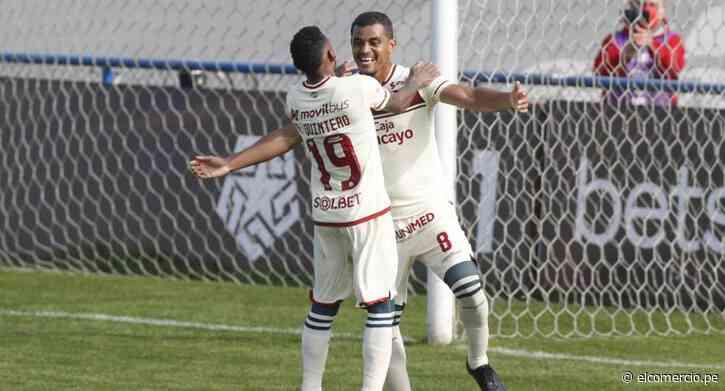Universitario goleó a Alianza Universidad con triplete de Alex Valera | GOLES Y RESUMEN - El Comercio Perú