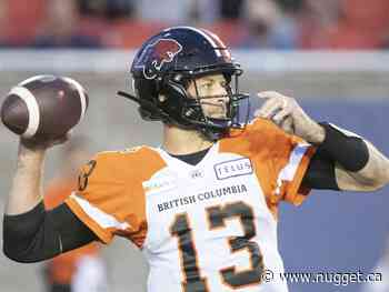 Age is just a number for B.C. Lions quarterback Michael Reilly - The North Bay Nugget