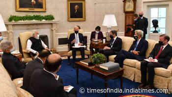 Seeds sown under Prez Biden to transform India-US relations: PM Modi at White House