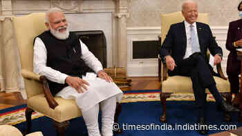 US-India relationship can help solve many global challenges: President Biden during meet with PM Modi