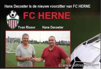 Hans Decoster is de nieuwe voorzitter van FC HERNE - Editiepajot
