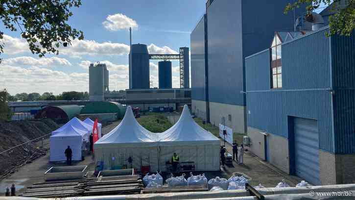 Bau der Wind-Fernwärme-Anlage in Wedel startet - NDR.de
