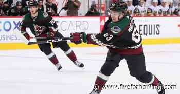 Arizona Coyotes 25 under 25: #9 Matias Maccelli - Five for Howling