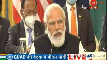 QUAD will work as a force for global good, help Indo-Pacific nations: PM Narendra Modi