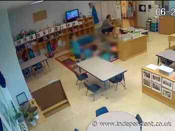 Daycare worker fired after video shows him pushing pre-schooler to the ground
