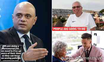 Sajid Javid joins fight for more face-to-face GP appointments