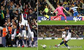 West Brom 2-1 QPR: Karlan Grant scores late winner to send Baggies top