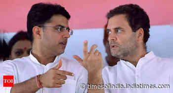 Sachin Pilot-Rahul Gandhi meet sparks Raj rejig buzz