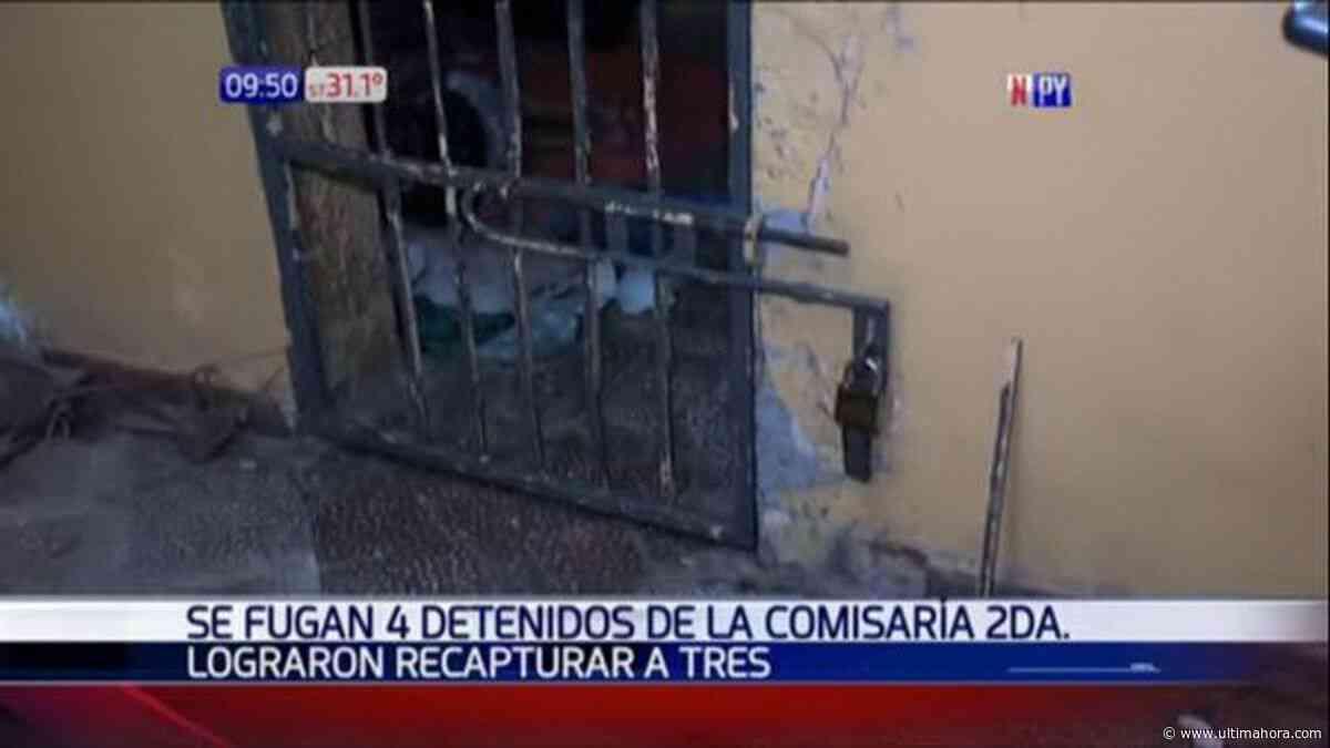 Cinco presos se fugan del calabozo - ÚltimaHora.com