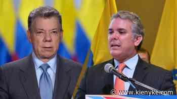Juan Manuel Santos arremete contra Duque por criticar los acuerdos de paz - KienyKe