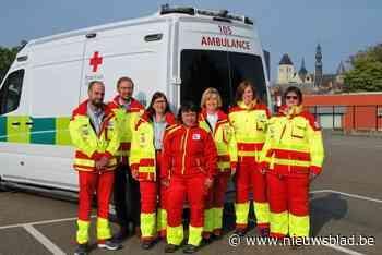 Nieuwe ziekenwagen voor Rode Kruis Zoutleeuw-Linter-Geetbets - Het Nieuwsblad