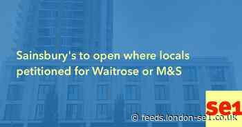 Sainsbury's to open where locals petitioned for Waitrose or M&S