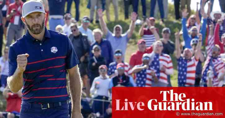 Ryder Cup: USA lead Europe 5-1 in dominant day one display – live!
