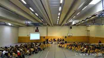 Wahlkampf in Crailsheim: Was die Jungen wissen wollen - SWP