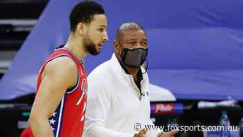 Simmons saga takes weird twist as Sixers coach levels Trump dig
