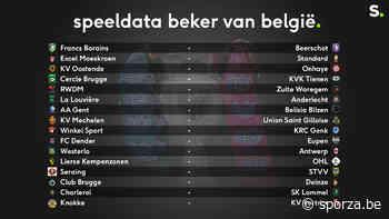 Club treft Deinze in 1/16e finales Beker, Anderlecht naar La Louvière - sporza.be
