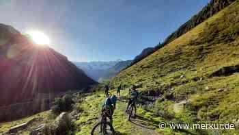 Penzberger Gymnasiasten kämpfen sich mit Mountainbikes durch die Alpen - Merkur Online