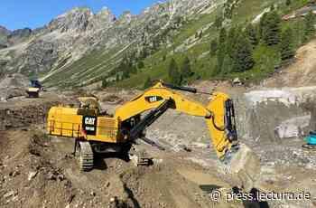Praxis: Speicherkraftwerksbau in den Stubaier Alpen mit Trimble Earthworks - LECTURA Press DE