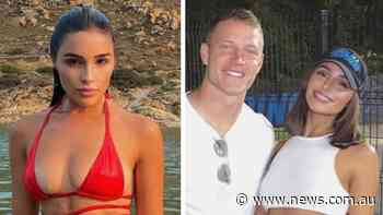 Model girlfriend's X-rated laugh at $87m star