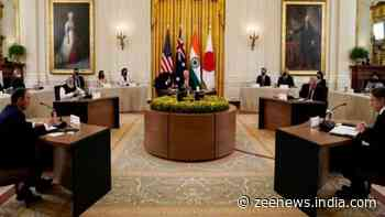 QUAD leaders pledge to work together for peace, prosperity in Indo-Pacific region