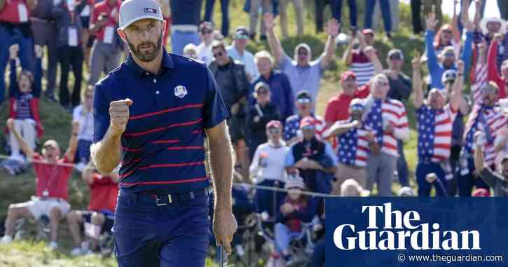 Ryder Cup: USA dominate first day to leave Europe with mountain to climb