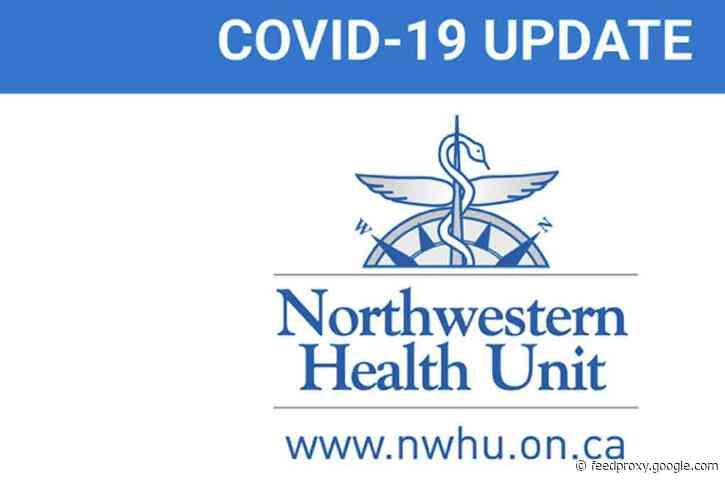 Three New Positive COVID-19 Cases in Northwestern Health Unit Reporting Catchment Area