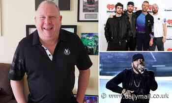 Music agent who represented stars including Coldplay and Eminem dies after a short illness