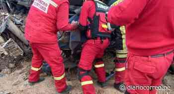 Despiste de trailer deja dos fallecidos en la carretera Nasca - Puquio - Diario Correo