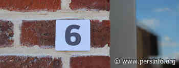 Gemeente Roosdaal verdeelt gratis reflecterend huisnummers - Persinfo.org