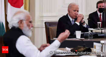 India, US committed to taking on toughest challenges together, says Biden after meeting Modi