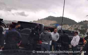 Duerme en la cárcel rural de Betania el alcalde de Teopisca, Abel Tovilla - El Heraldo de Chiapas