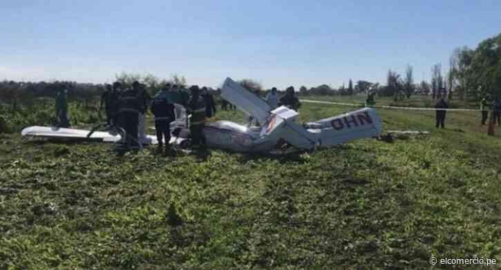 Dos muertos tras estrellarse una avioneta cerca de Buenos Aires - El Comercio Perú