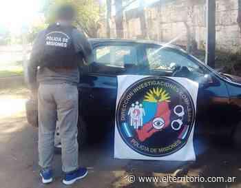 Posadas: incautan vehículo robado en Buenos Aires - EL TERRITORIO