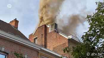 Zolder helemaal verwoest na felle brand in Wilrijk - ATV