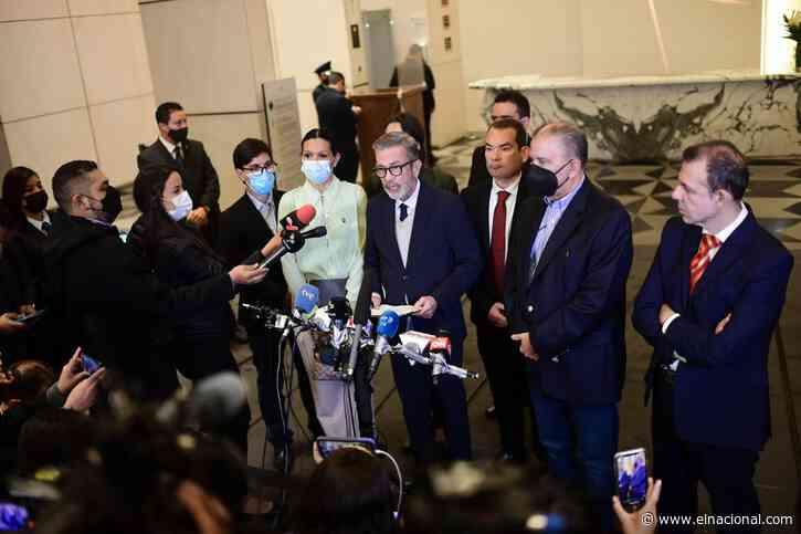 Plataforma Unitaria ratificó su compromiso con la negociación