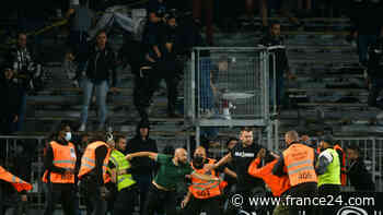 Arrests after French football rocked by violence - FRANCE 24