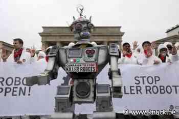 'Gevaren van killer robots: we mogen niet toelaten dat machines beslissen over leven en dood'