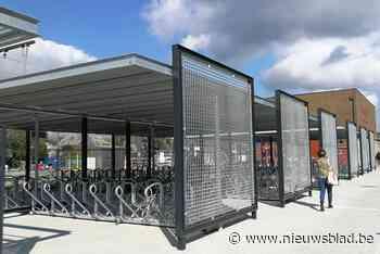 Nieuwe fietsenstalling klaar voor gebruik (Herentals) - Het Nieuwsblad
