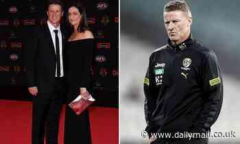 Damien Hardwick's ex-wife Danielle breaks silence on marriage breakdown to Richmond coach