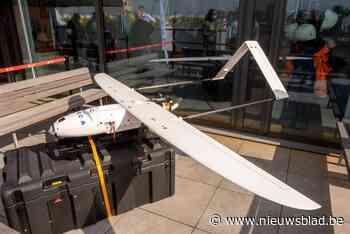 Havenbedrijf Antwerpen en luchtvaartbedrijf Sabca experimenteren met drone voor bewaking en opvolging van incidenten